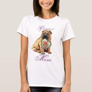 Shar-Pei Heart Mom T-Shirt