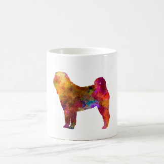 Shar Pei in watercolor Coffee Mug