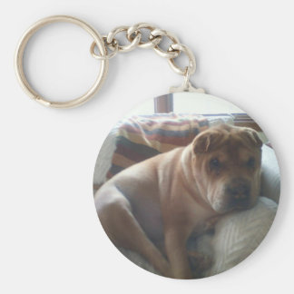 Shar-Pei Key Ring