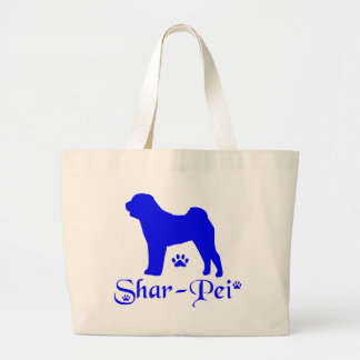 SHAR PEI LARGE TOTE BAG