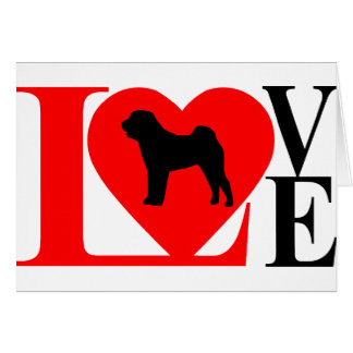 SHAR PEI LOVE CARD