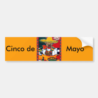 Shar-Pei Mexico Chef Bumper Sticker