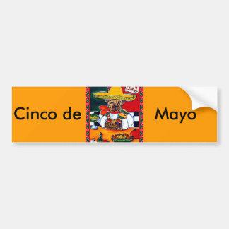 Shar-Pei Mexico Chef Car Bumper Sticker