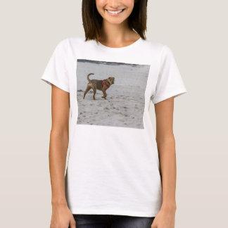 shar pei on beach T-Shirt