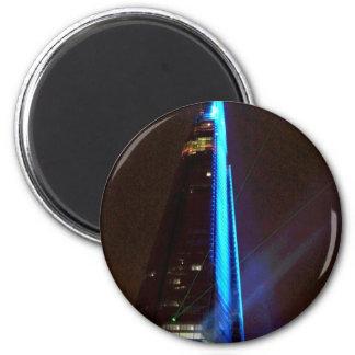 Shard Laser Light Show Opening Night Magnet
