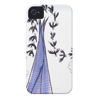 ShardArt Blue Skies by Tony Fernandes iPhone 4 Covers