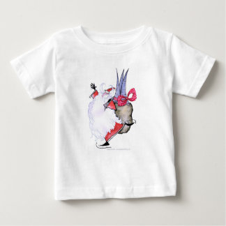 ShardArt Fat Santa by Tony Fernandes Baby T-Shirt