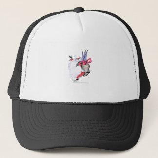 ShardArt Seasons Greetings by Tony Fernandes Trucker Hat