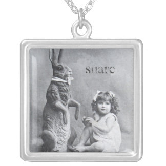Share Candy Easter Bunny Necklace