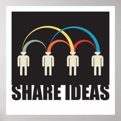 share ideas print