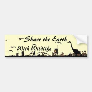 Share the Earth Bumpersticker Bumper Sticker