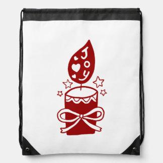Share The Joy of Christmas Drawstring Bag