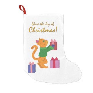 Share The Joy of Christmas! Small Christmas Stocking