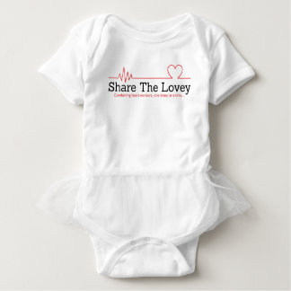 Share The Lovey tutu Baby Bodysuit
