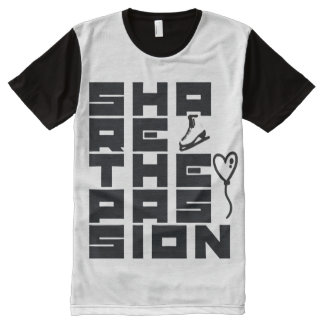 Share the passion All-Over print T-Shirt