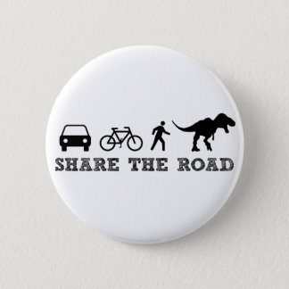 Share the Road 6 Cm Round Badge