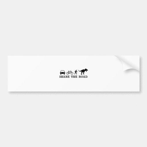 Share the Road Bumper Sticker