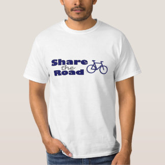 Share The Road T Shirts