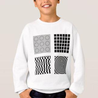 share the trick art sweatshirt