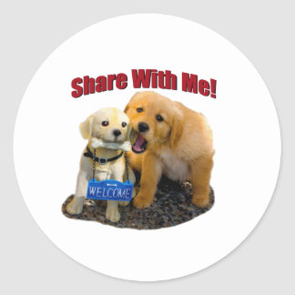 Share With Me Stickers