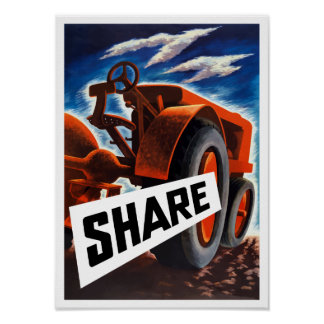 Share -- WWII Poster
