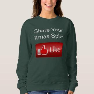 Share Your Xmas Spirit Sweatshirt