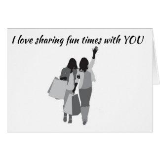 **SHARED BIRTHDAY* & FUN WITH MY ***BEST FRIEND*** CARD