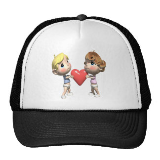 Shared Heart T-shirts and Gifts Trucker Hats