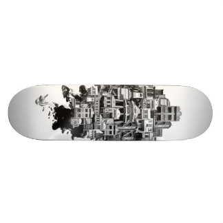 Shared Space: Shop-houses Skate Deck