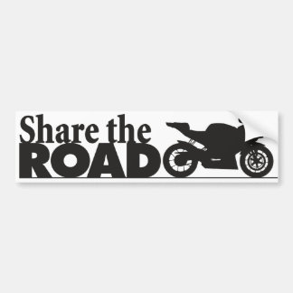 ShareTheRoad Car Bumper Sticker