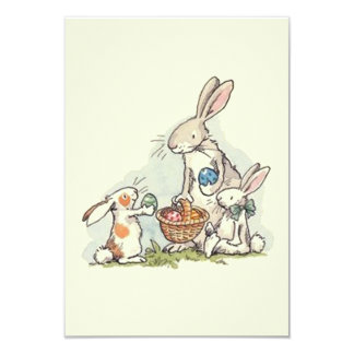 Sharing At Easter Easter Party Invitations