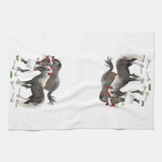 Sharing Christmas Tea Towel
