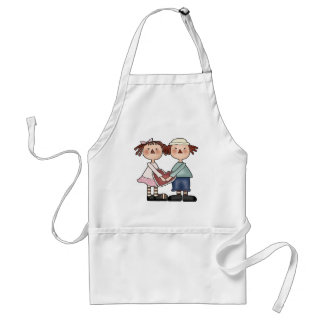 Sharing Heart Valentine T-shirts and Gifts Adult Apron