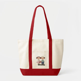 Sharing Heart Valentine T-shirts and Gifts Impulse Tote Bag
