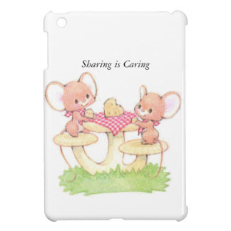 Sharing Is Caring Spring Summer Mice Cover For The iPad Mini