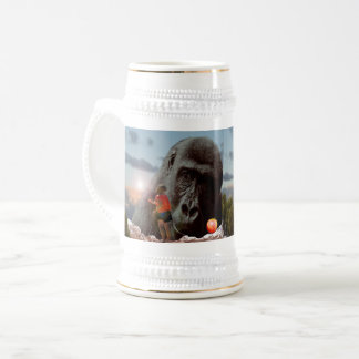 Sharing Lunch With An Ape, Beer Stein