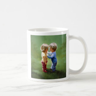 Sharing Secrets Basic White Mug