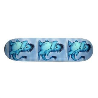 "SHARK ALIEN CARTOON Skateboard 8 1/8"""