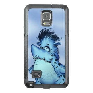 SHARK ALIEN MONSTER CARTOON Samsung Note 4