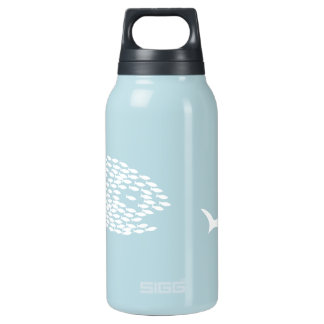 Shark attack 0.3 litre insulated SIGG thermos water bottle