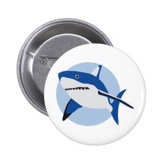 shark attack anstecknadelbuttons