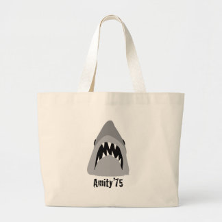 shark attack canvas bags