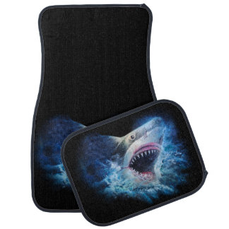 Shark Attack Car Mat Full Set