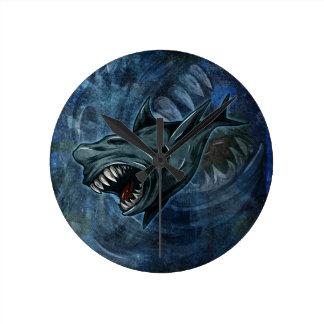 Shark Attack Wallclocks