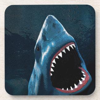 Shark attack coaster