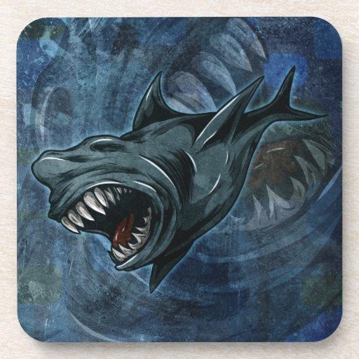 Shark Attack! Drink Coaster