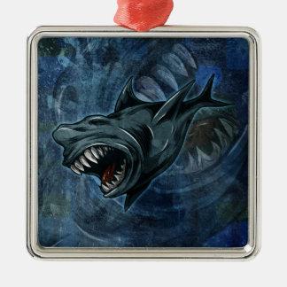 Shark Attack! Christmas Tree Ornaments