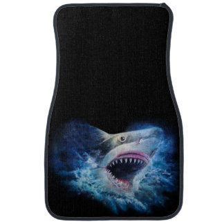 Shark Attack Front Car Mat