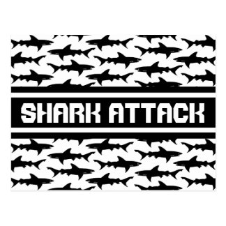 SHARK ATTACK - Funny Vacation Story from the Beach Postcards