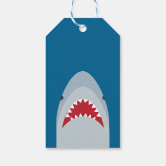 Shark Attack Gift Tag